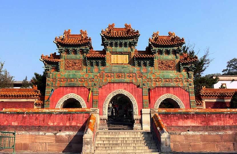 Colour Glaze Gateway, Puotuo Zongcheng