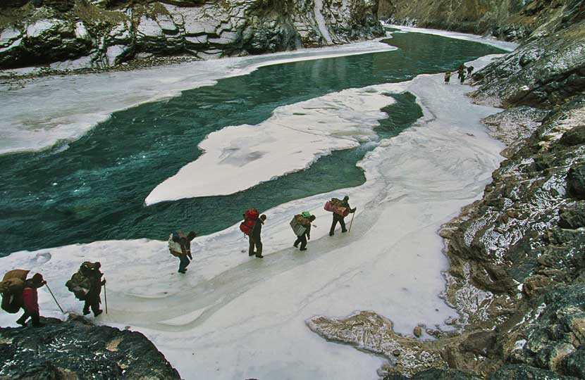 Chadar Trek, Zanskar Valley