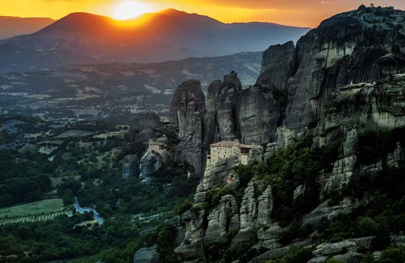 UNESCO listed Monasteries, Meteora