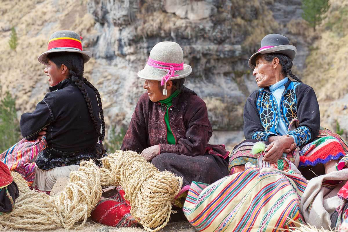 THE ANCESTRAL SPIRIT OF THE QUECHUA PEOPLE