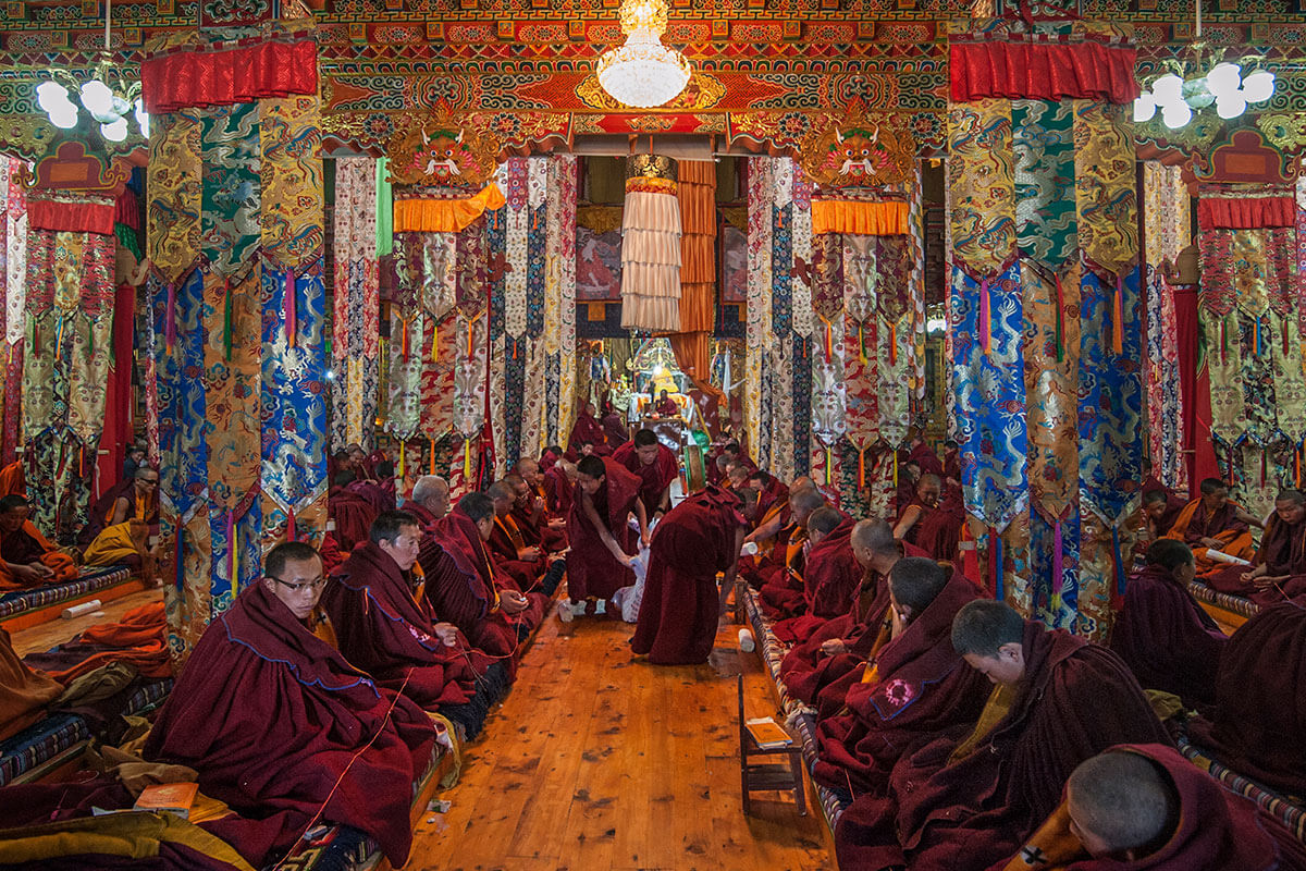 BUDDHIST MONASTERIES: HUBS OF PEACE AND SERENITY
